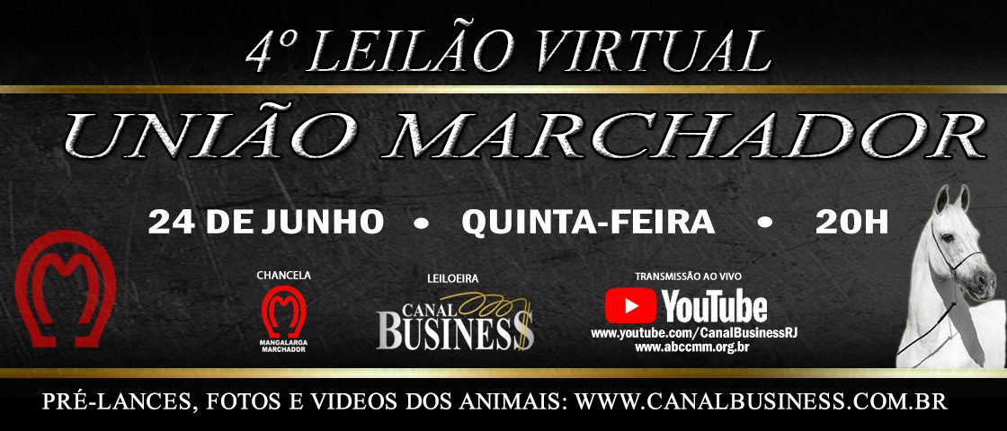 Slide LEILÃO UNIÃO MARCHADOR